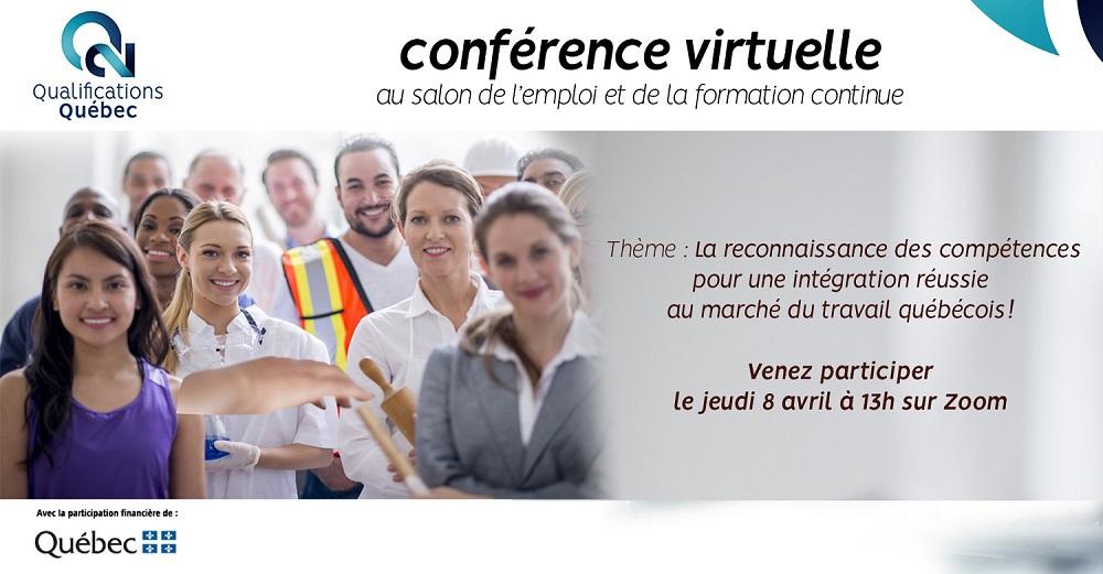 Conférence : la reconnaissance des compétences pour une intégration réussie au marché du travail québécois