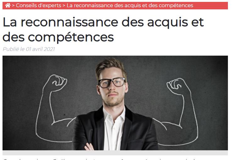 La reconnaissance des acquis et des compétences au Québec